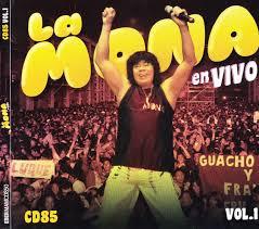 Tenes Todo Aca: La Mona Jimenez - En Vivo CD 85 Vol. 1 (2014)