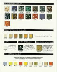 Older Duncan Glaze Color Charts In 2019 Glaze Glaze