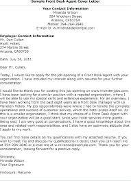Best Sample Cover Letter For Job Hotel Job Cover Letter Receptionist