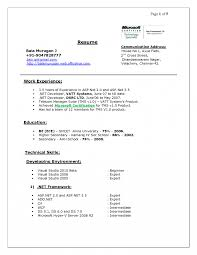 Alluring Microsoft Office Resume Skills For Your Best Photos Of