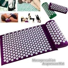 <b>Acupressure</b> Mat Relaxation Body Foot <b>Massage Cushion</b> Shakti ...