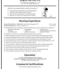 Sample Lpn Resume Fascinating Lpn Resume Writing Guide And Sample Sample Resumes Sample Lpn