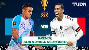? EN VIVO | Guatemala vs México - Copa ...