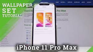 Lock Screen in iPhone 11 Pro Max ...