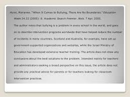 bibliography essay topics Annotated Bibliography APA