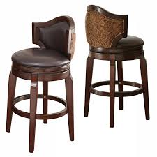 traditional style bar stools. Modren Bar The Jensen Low Back Swivel Bar Stool Offer A Sophisticated Traditional  Style In Rich Brown Cherry Black Faux Leather On The Seat And Inside With  Inside Traditional Style Bar Stools E