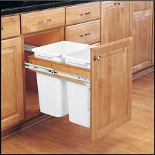 Kitchen Cabinet Trash Can Pull Out Kitchen Sohor