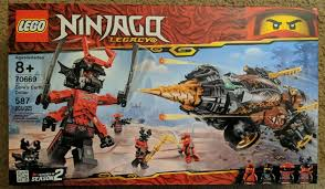 LEGO Ninjago 2019 Legacy Cole's Earth Driller 70669 Building Kit 587pcs Kid  Toys for sale online