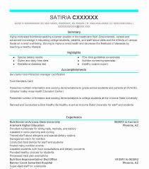 Charming Food Demonstrator Resume 61 On Good Resume Objectives With Food  Demonstrator Resume