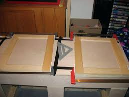 exciting diy cabinet doors beautiful charming with glass how to make flat panel interior jig hardware