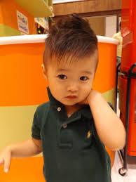 子供 髪型 男の子短髪ソフトモヒカンアシメ長めツーブロック I
