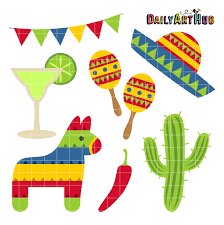 Cinco de Mayo Clip Art Set – Daily Art ...