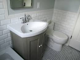 astonishing white subway tile bathrooms bathroom ideas white subway tile bathroom with freestanding bathtub and single