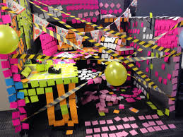 Cubicle Decorations For Birthday Birthday Cubicle Decorations Work Month Themes Pinterest