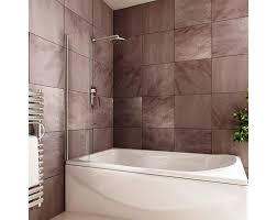 image of full length tub splash guard