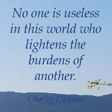 HelpingOthersQuotesNooneisuselessinthisworldwholightens Best Quotes About Helping Others