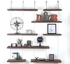 suspended shelf turnbuckle floating shelves 2 diy garage