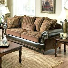 can you mix leather and fabric furniture mixing leather sofa fabric chairs and photo 3 of