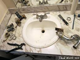 Install Bathroom Sink Amazing Glamorous How To Change A Bathroom Sink Faucet Changing Bathroom