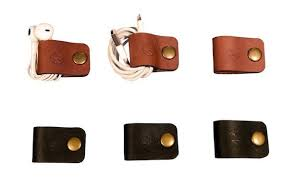 ... Leather Snap Cord Holder 3 Pack ...