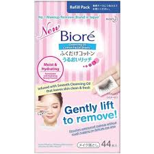 biore biore cleansing oil cotton sheets refill pack 44s make up remover skincare