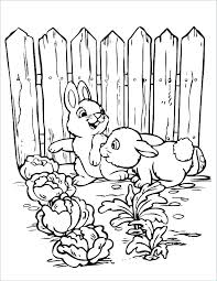 Flower Garden Coloring Page Flower Garden Coloring Pages To Download