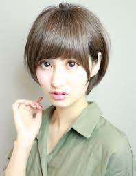 アラフォーママ暗髪小顔ショートhi 285 ヘアカタログ髪型ヘア