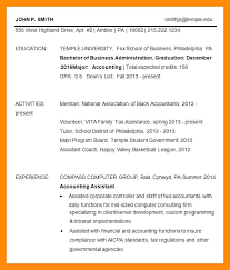Temple Resume Template Choice Image Template Design Free Download