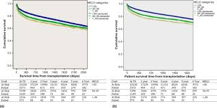 Meld Score Survival Chart Survival Outcomes In Liver Transplant Recipients With Model