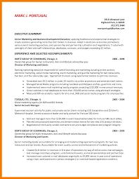9 Summary Statement Resume Examples Mbta Online