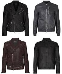 the best allsaints leather jackets