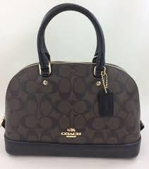 New Coach F58295 F27583 mini Sierra Signature Satchel Shoulder Bag Handbag  Purse