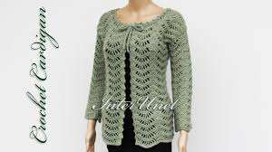Lacy Crochet Cardigan Pattern Simple Inspiration Design