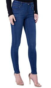 Liverpool Womens Gia Glider Revolutionary Pull On Jeans At