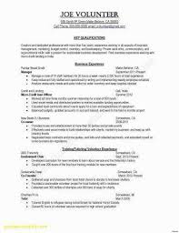 Volunteer Work On Resume Example Magnificent Volunteer Work On Resume Sample Awesome Resume Examples For Hospital
