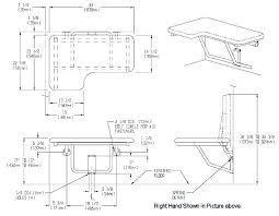 shower bench ada seat with legs
