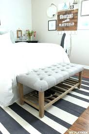L Wood Bed Bench White For Bedroom Best Ideas On Tiny Master