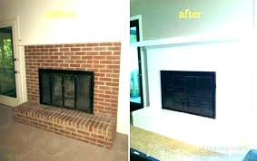 fireplace colors paint colors to match brick best color to paint brick fireplace painted brick fireplace