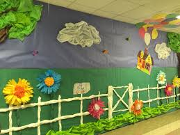 new wall decoration for school good wall decoration for school