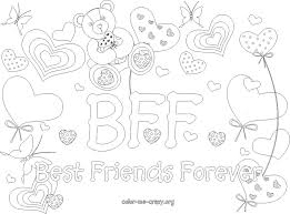 Small Picture Bff Coloring Pages Bebo Pandco
