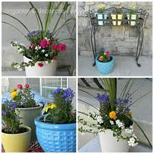 Creative Ideas for Front Porch Flower Pots : Fair Picture Of Accessories  For Front Porch Decoration