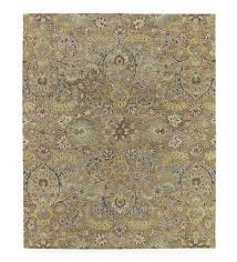 meadow fern wool rug