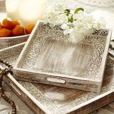 Decorative Glass Trays Trays Decorative Serving Trays Pier 100 Imports 83