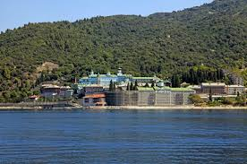 Image result for Mount Athos as a backdrop