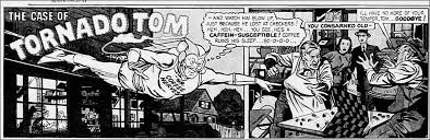 Peter joins the lodge 1940 postum coffee substitute original vintage advertisement with mr. Lileks James Comics Mr Coffee Nerves