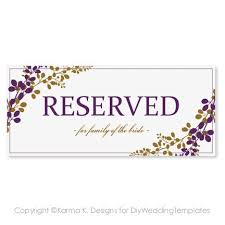 Reserved Signs Templates Il 570xn 495525948 Fnxn In Reserved Signs Templates Template Ideas