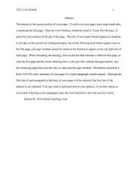 002 Apa Format Sample Essay Thatsnotus