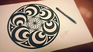 Doppler Effect Mandala How To Draw Geometric Art