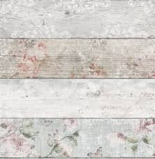 Shabby Chic Bedroom Wallpaper Graham Brown Fresco Grey Pink Distressed Floral Wood Flat