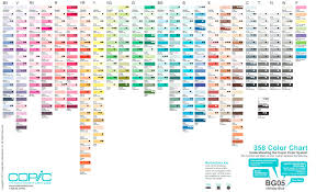 Copic Swatch Chart Lex Szweryn Hi Friends Ive Compiled A Swatch Collection